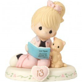 Precious Moments Age 13 Girl Figurine - Blonde