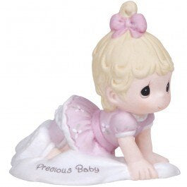 Precious Moments Baby Girl Figurine - Blonde