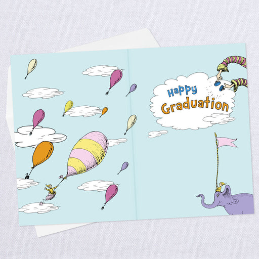 Dr. Seuss™ Oh, The Places You'll Go! Balloon Graduation Card