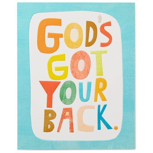 God's Got Your Back Art Print