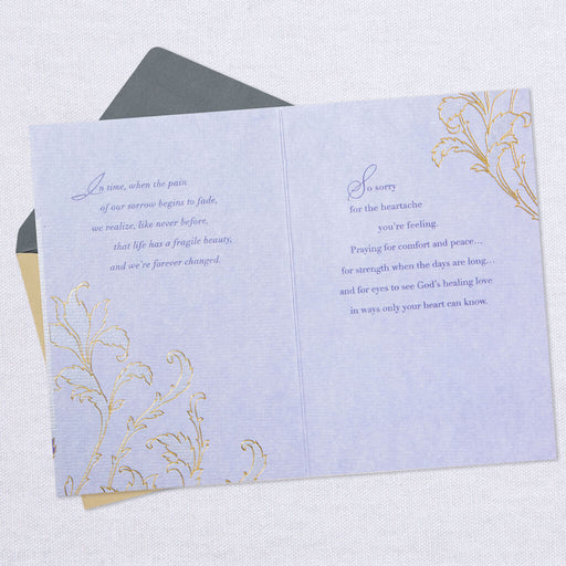 God's Healing Love Sympathy Card