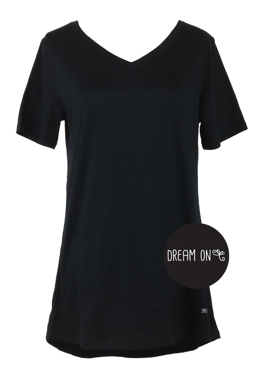 Dream On Black Sleep Shirt