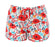 Red Floral Leisure Shorts