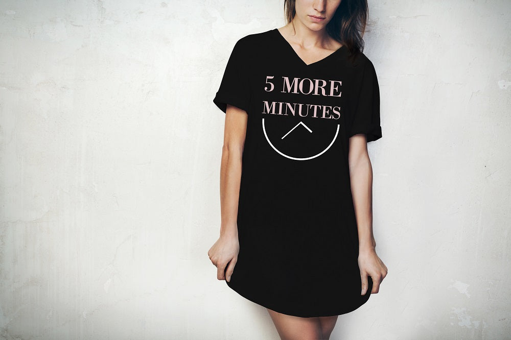 5 More Minutes Sleep Shirt