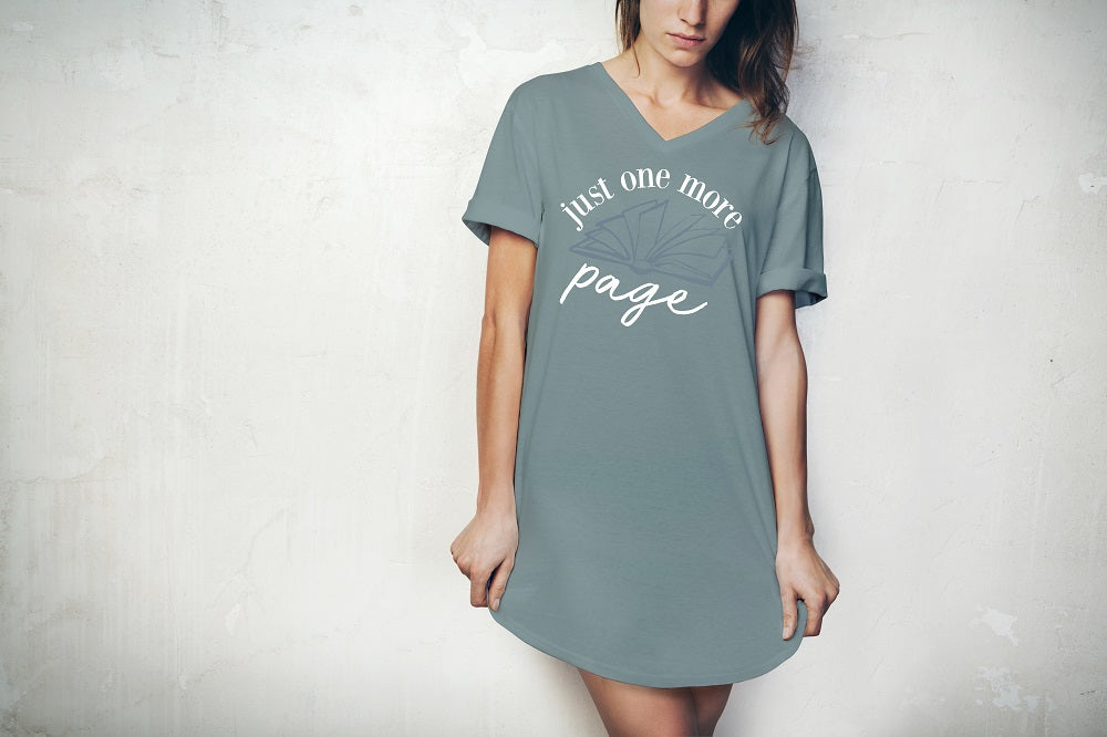Just One More Page Sleep Shirt