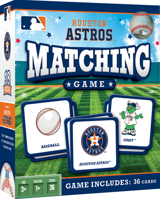 Houston Astros Matching Game