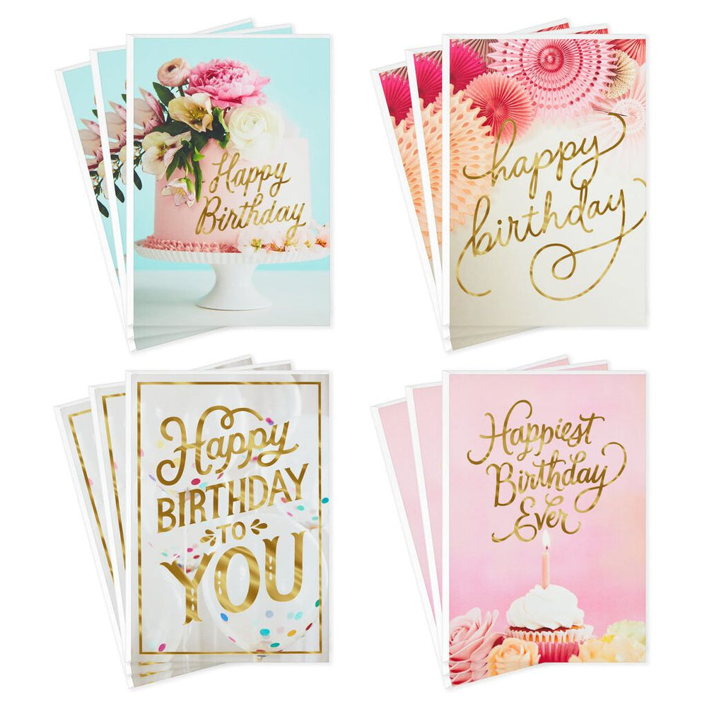 Feminine Birthday Card Assortment