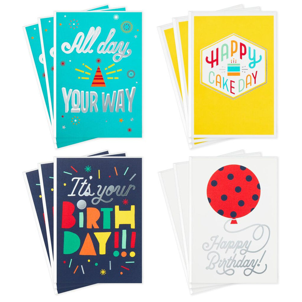 Bold Birthday Card Assortment