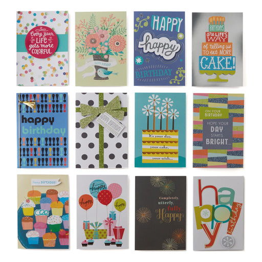 Birthday Card Assortment