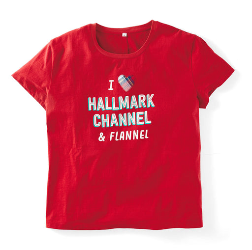 Hallmark Channel and Flannel Women's Loose-Fit T-Shirt