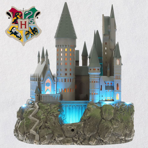 Harry Potter™ Collection Hogwarts™ Castle Musical Tree Topper With Light