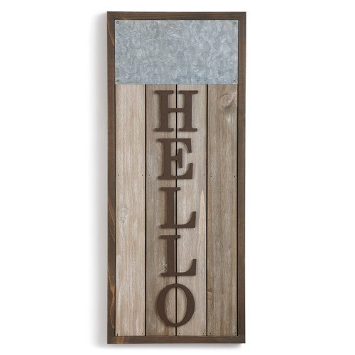 Mark the Moment Hello Magnetic Sign