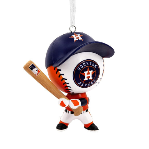 Houston Astros™ Baseball Buddy Christmas Ornament