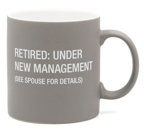 Retired: Under New Management Mug