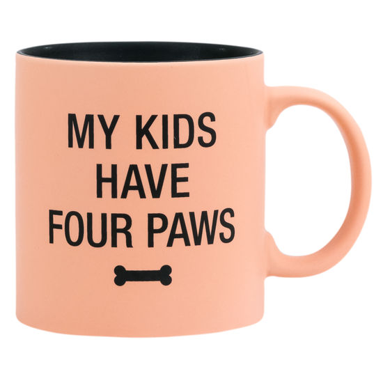 Kids Have Four Paws Mug