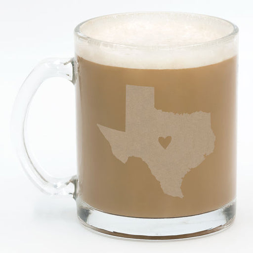 Texas Glass Mug Set