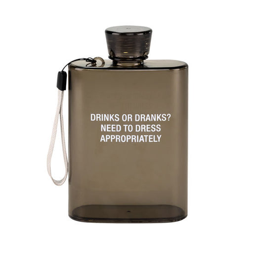 Drinks or Dranks? Acrylic Flask