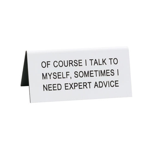 Expert Advice Small Sign