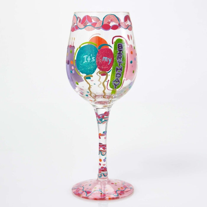 It's My Birthday Lolita Wine Glass