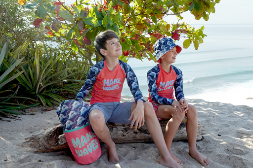 Boys Fun In The Sun Rash Guard Swim Tee