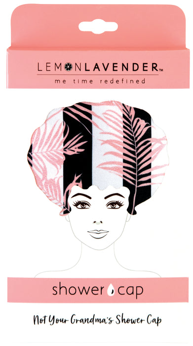 Modern Tropic Shower Cap