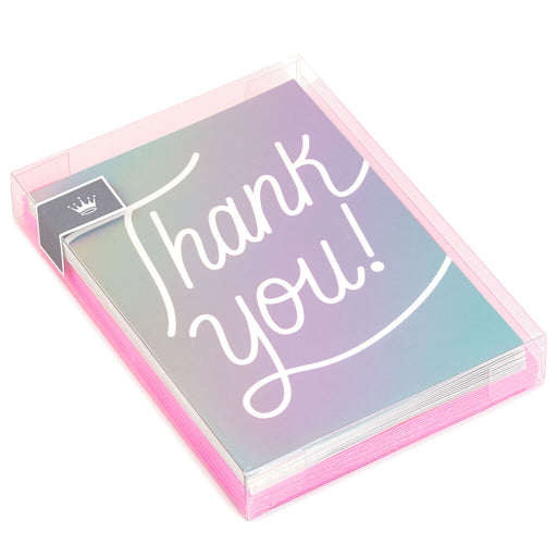Laser-Foil Blank Thank-You Notes