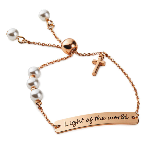 Light of the World Scripture Bracelet