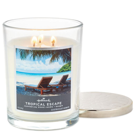 16oz Tropical Escape 3-Wick Jar Candle