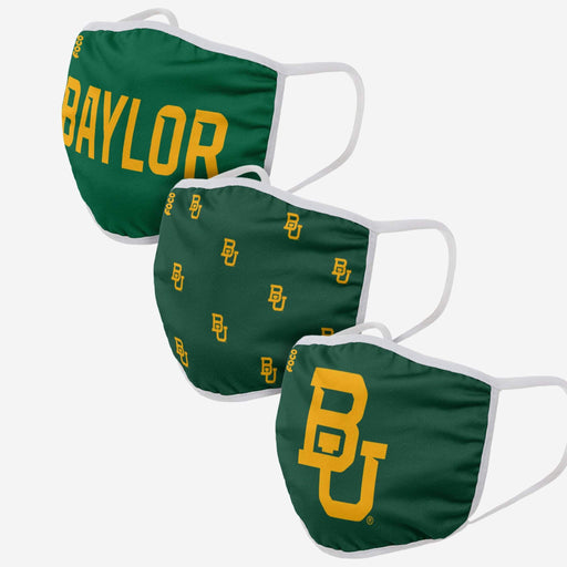 Baylor Bears 3 Pack Face Mask