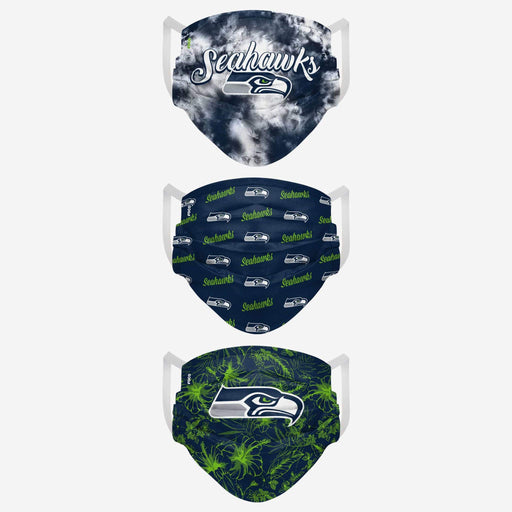 Seattle Seahawks Women's MatchDay 3 Pack Face Mask