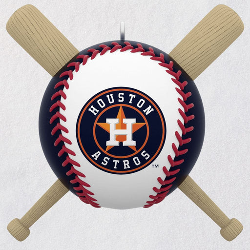 Houston Astros Take Me Out to the Ball Game Musical Keepsake Ornament