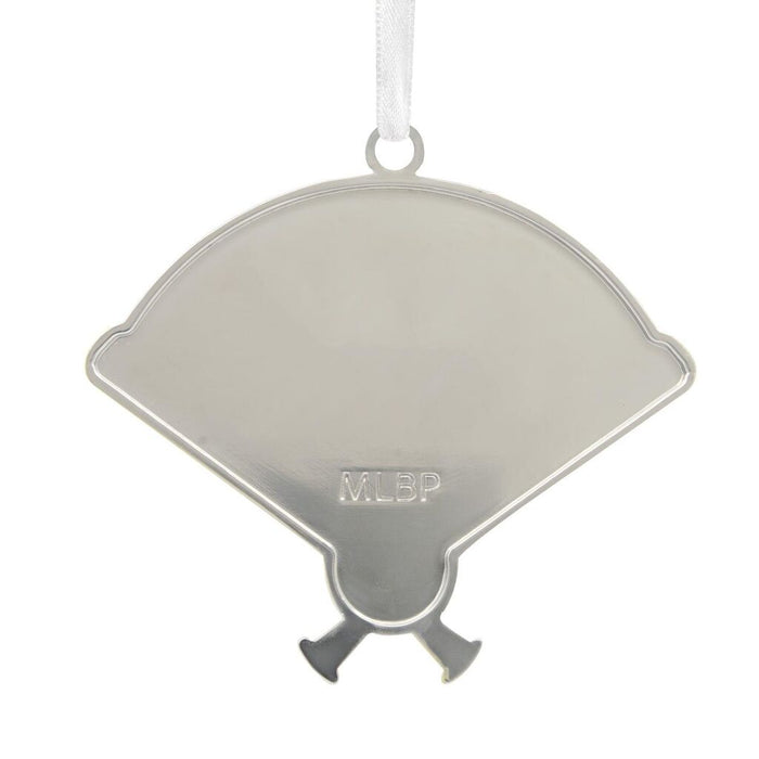 Houston Astros™ Home Plate Metal Ornament