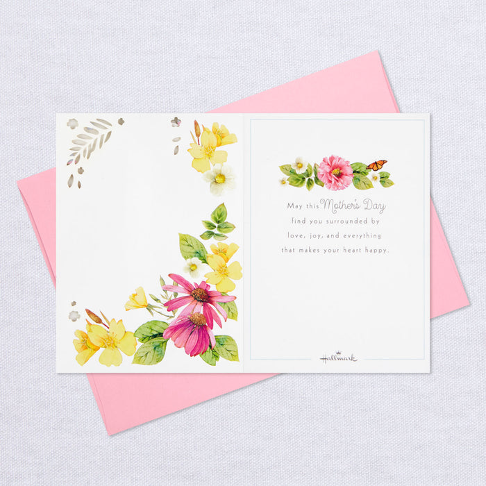 Marjolein Bastin Hummingbirds and Flowers 3D Pop-Up Mother's Day Card