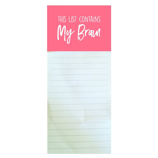 Magnetic Notepad - Moment of Truth My Brain