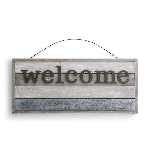 Mark the Moment Hanging Welcome Magnetic Sign