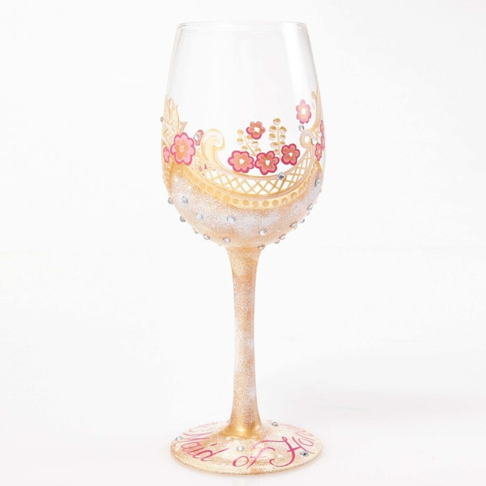 Maid of Honor Lolita Wine Glass