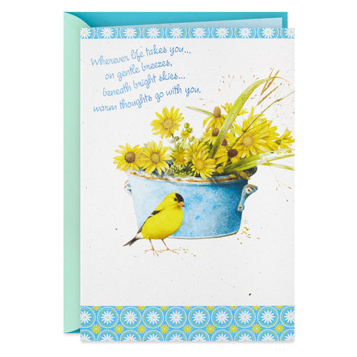 Marjolein Bastin Sunflowers Best Wishes and Goodbye Card