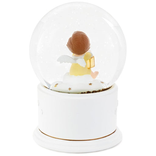 Mary's Angels Lullaby Musical Snow Globe