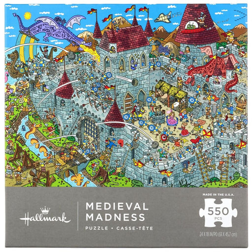 Medieval Madness 550 Piece Puzzle