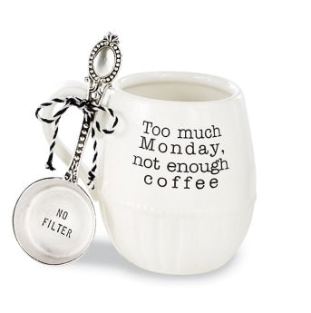 Too Much Monday Mug Set