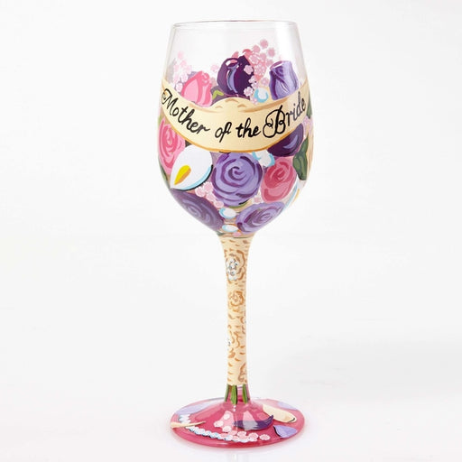 Mother of the Bride Lolita Wine Glass