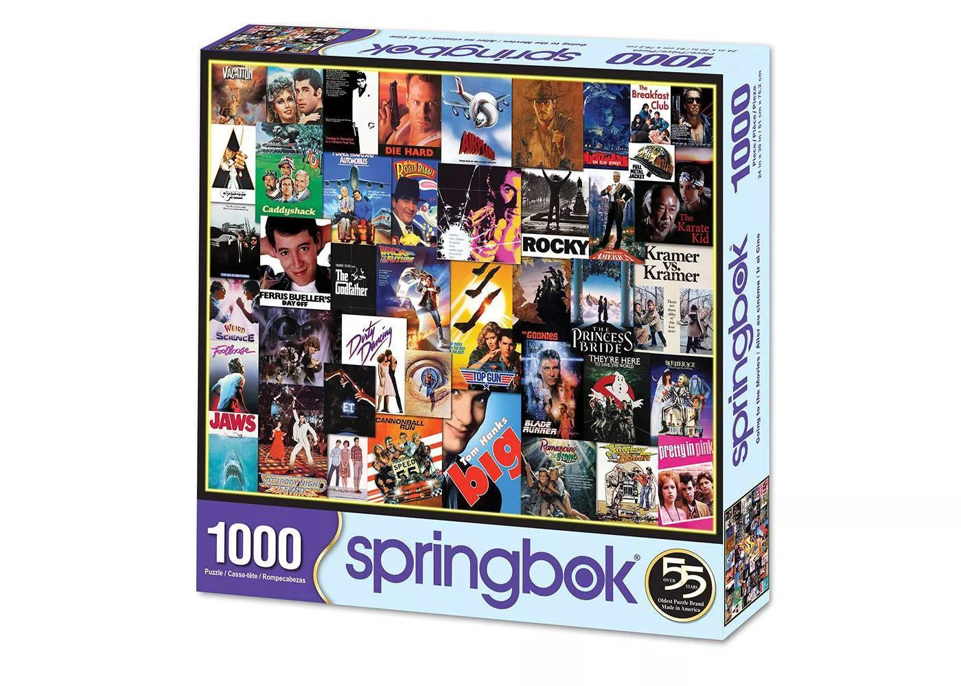Going to the Movies 1000 Piece Jigsaw Puzzle