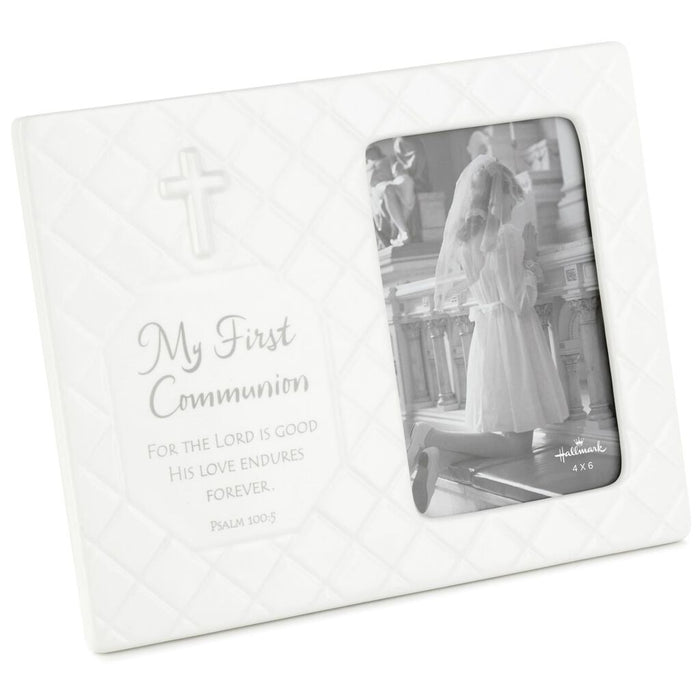 My First Communion Ceramic Picture Frame