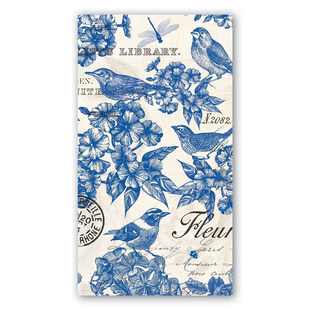 Indigo Cotton Hostess Napkins