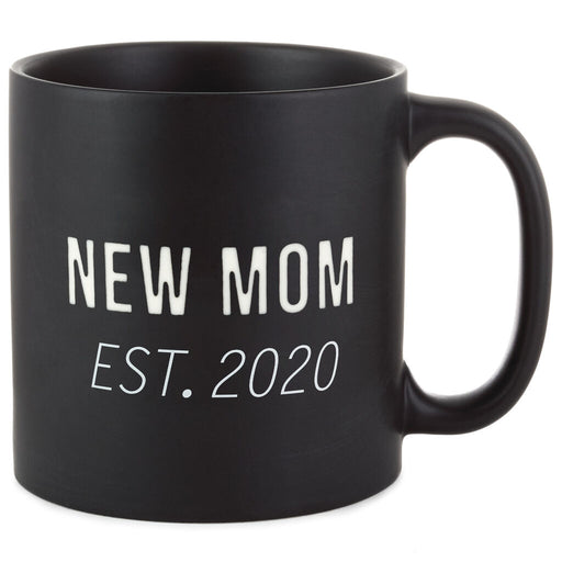 New Mom Established 2020 Mug
