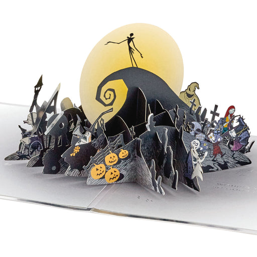 Disney Tim Burton's The Nightmare Before Christmas Happy Nightmares 3D Pop-Up Card