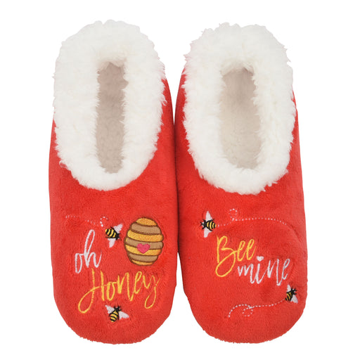 Oh Honey, Bee Mine Snoozies! Slippers