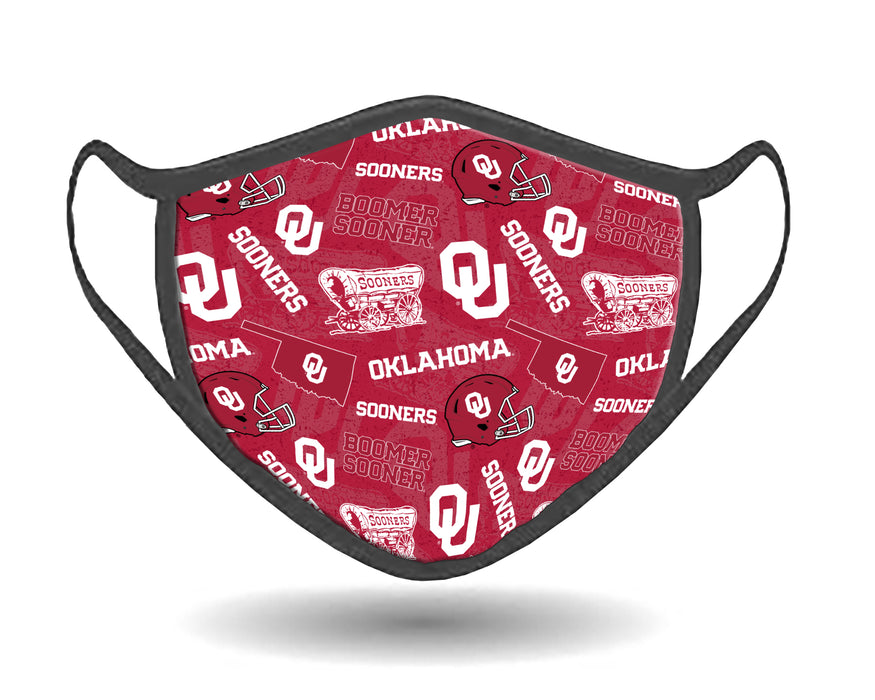 Oklahoma University Face Mask