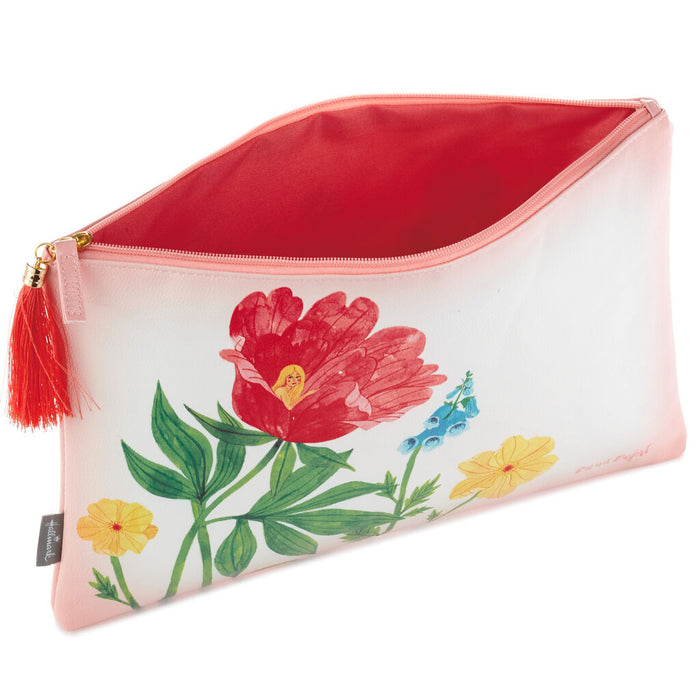 Oana Befort Floral Large Zip Pouch