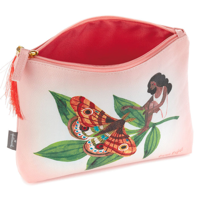 Oana Befort Flower Zip Pouch